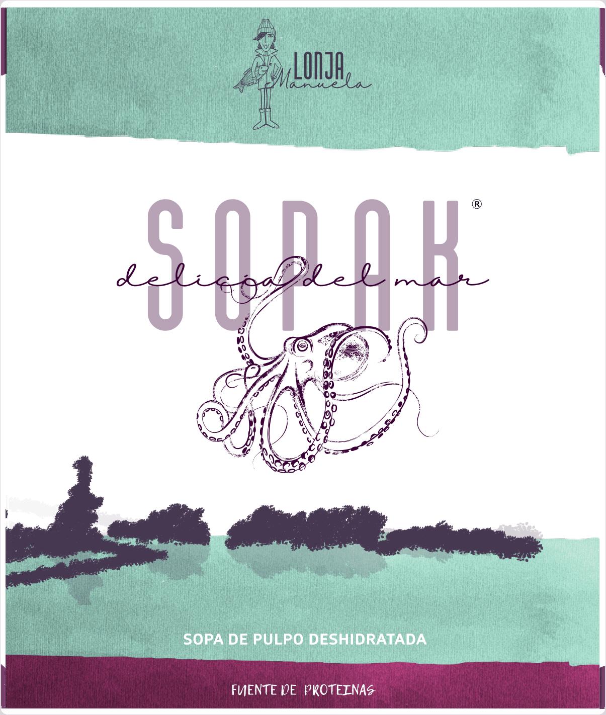 Empaque de Sopak- Delicia-del-mar